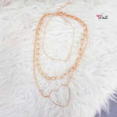 Collier 3 étages Marya
