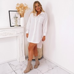 Robe chemise must-have blanche