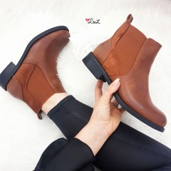 Bottines Chelsea camel