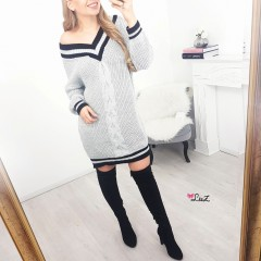 Robe-pull sporty chic