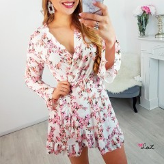 Robe sweet spring blanche