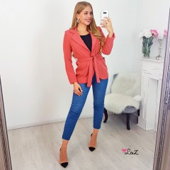 Blazer working girl rouille