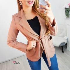 Blazer working girl beige
